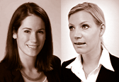 RAin Kira Falter, CMS Hasche Sigle und RAin Maren Hütwohl, Director HR Advisory, Legal & Contract Management, ManpowerGroup